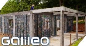 Ein Dorf gebaut aus Plastikflaschen | Galileo Lunch Break