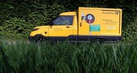 Streetscooter - elektrisches Postauto ist flüsterleise