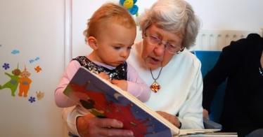 A Preschool In A Nursing Home Promotes Growth & Friendship