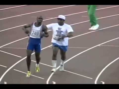 DEREK REDMOND You raise me up