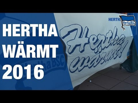 HERTHA WÄRMT 2016 - Mixed - Hertha BSC - Berlin - 2017 #hahohe