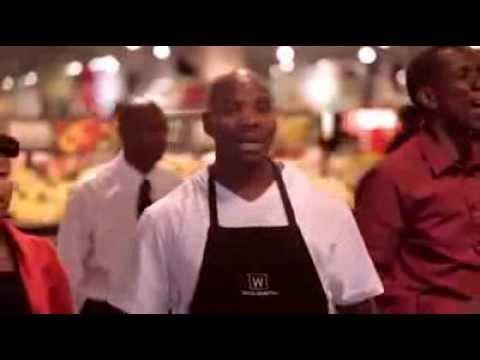 Mandela Flashmob im Supermarkt / Asimbonanga (Mandela)